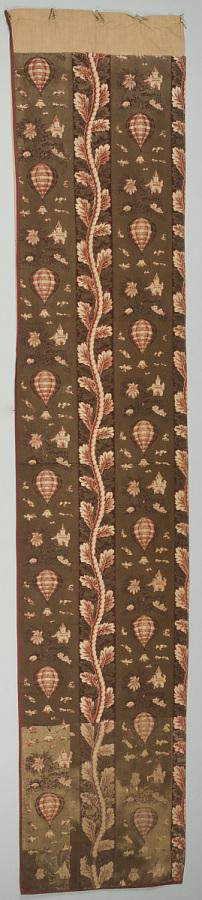 Curtain Panel, Printed Textile
