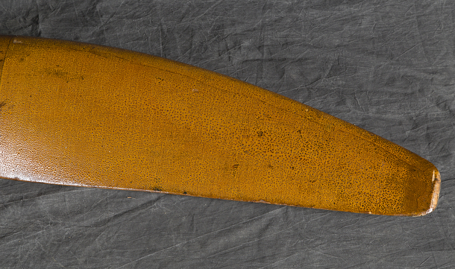 Hardman Peck & Co. Propeller, fixed-pitch, two-blade, wood