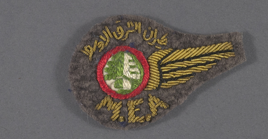 Badge, Flight Attendant, Middle East Airlines