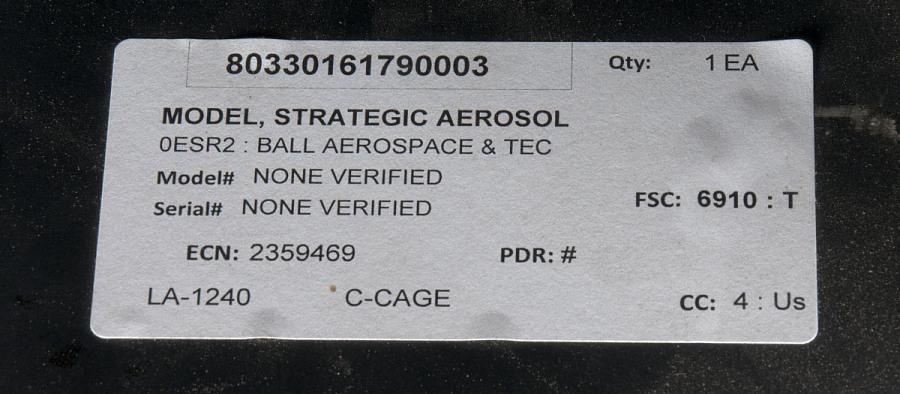 Instrument, Stratospheric Aerosol Measurement 2 (SAM 2)