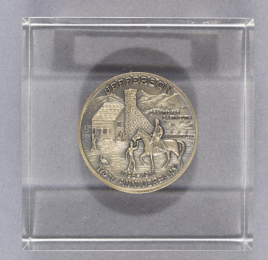 Medal, Commemorative, Thaddeus Lowe