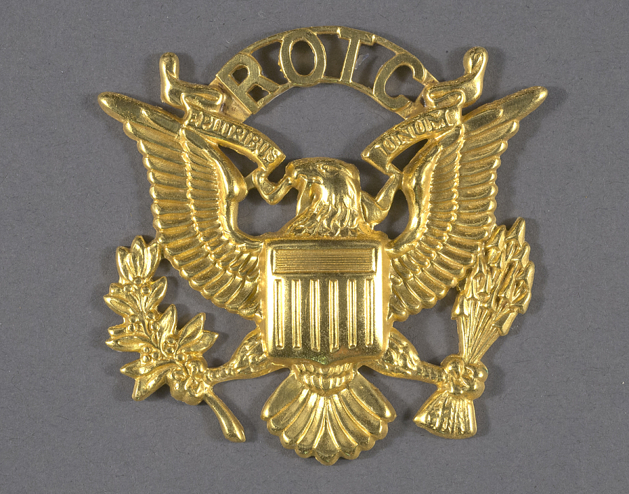 Badge, Cap, Reserve Officer Training Corps (ROTC), United States Army