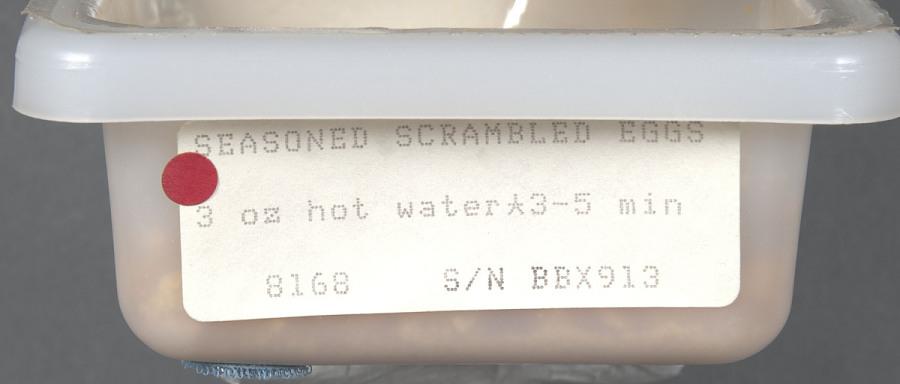 Space Food, Seasoned Scrambled Eggs, STS-27