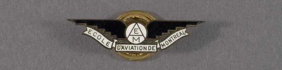 Pin, Lapel, Ecole D'Aviation De Montreal