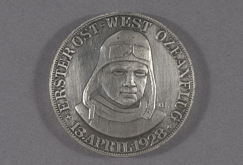 Medal, First East-West Transatlantic Flight