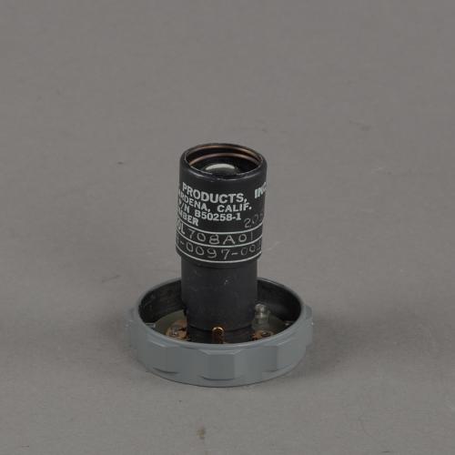 Light Bulb, Crewman Optical Alignment Sight, Apollo 11