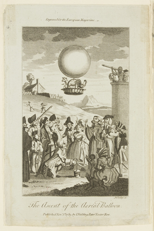 The Ascent of the Aeiral Balloon
