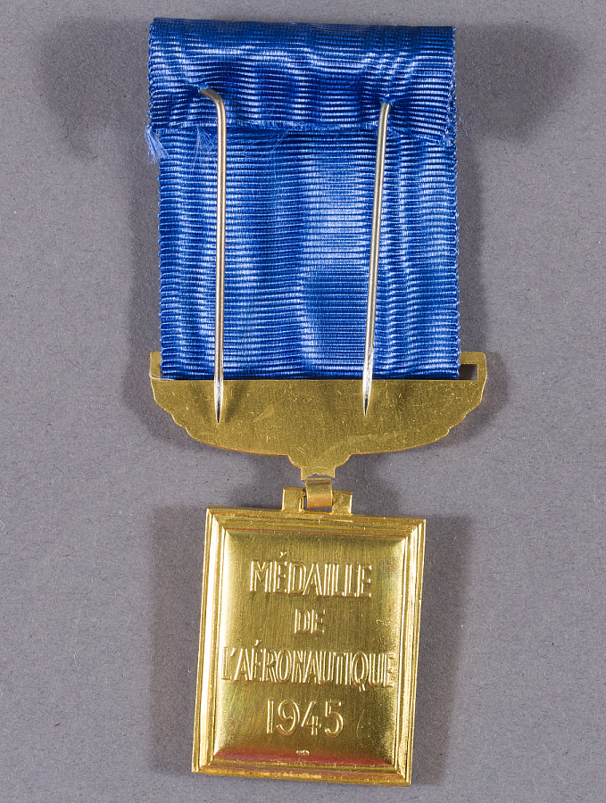 Medal, Medaille de Aeronautique, Gen. Charles Yeager