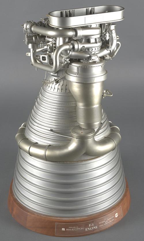 Model, Engine, Liquid Fuel, F-1