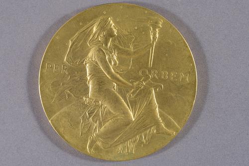 Medal, Hodgkins Medal, J. J. Thomson, 1902
