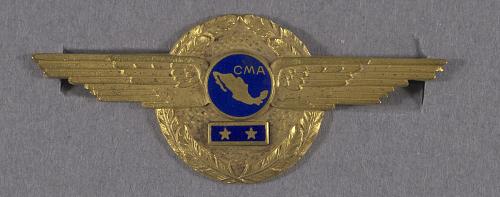 Badge, Senior Pilot, Compania Mexicana de Aviacion (C.M.A.)