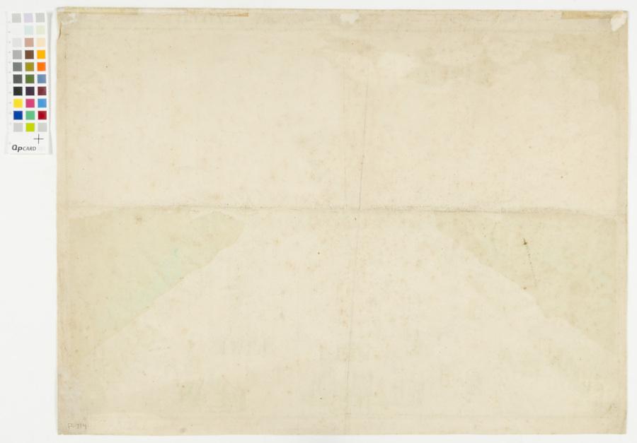 Print, Etching on Paper, Colored , POUR LA FÉTE DU ROY! PAR ÉLISA GARNERIN.