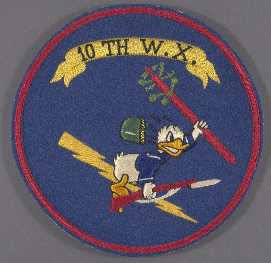 Insignia, Unit, 10th Weather Squadron, United States Army Air Forces