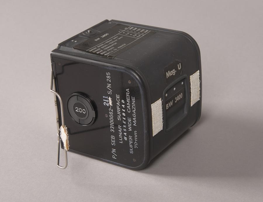 Film Magazine, Hasselblad, 70mm, Apollo 11, Flown