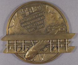 Plaque, Wright Brothers 20th Anniversary