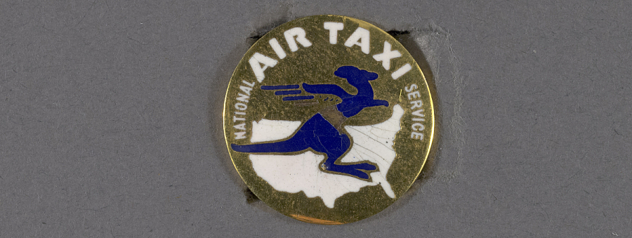 Pin, Lapel, National Air Taxi Service
