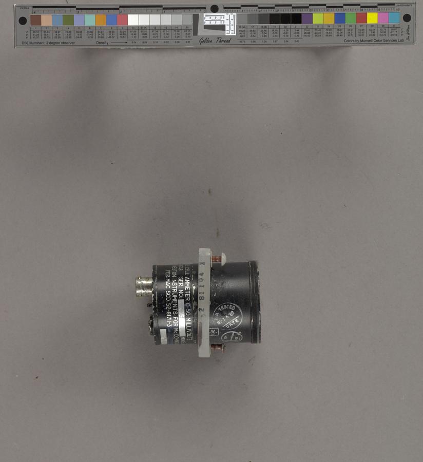 Ammeter, Fuel Cell, Gemini