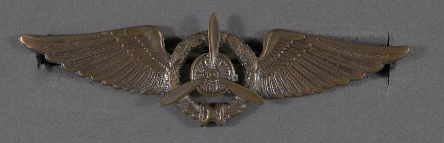 Badge, Flight Engineer, Royal Netherlands Indies Army