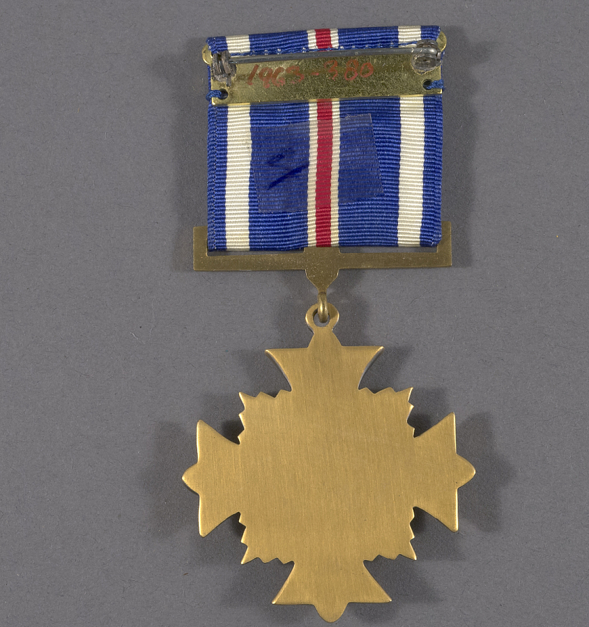 Medal, Distinguished Flying Cross, Gen. Claire Chennault