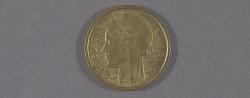 "Coin, France, 1 Franc, Lockheed Sirius ""Tingmissartoq"", Lindbergh"