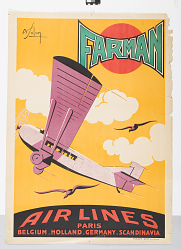 Farman Air Lines: Paris, Belgium, Holland, Germany, Scandinavia