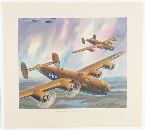 Consolidated 'Liberator' B-24 Heavy Bomber ∙ U.S. Army Air Force
