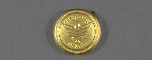 Button, Continental Airlines