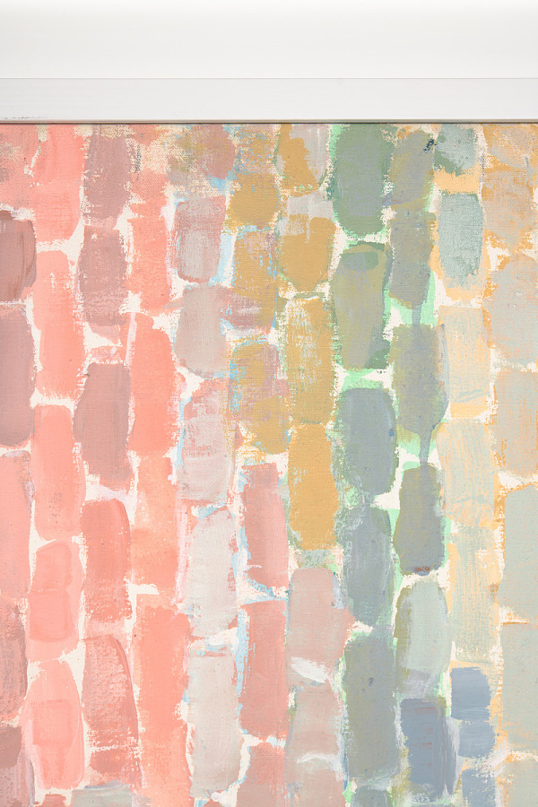Painting, acrylic on canvas, BLAST OFF, 1970