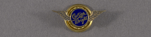 Pin, Lapel, Curtiss-Wright Aircraft Co.