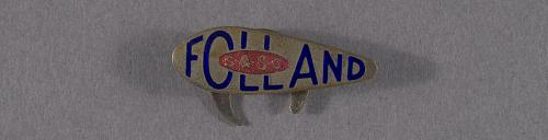 Pin, Lapel, War Worker, Folland Aircraft Ltd.