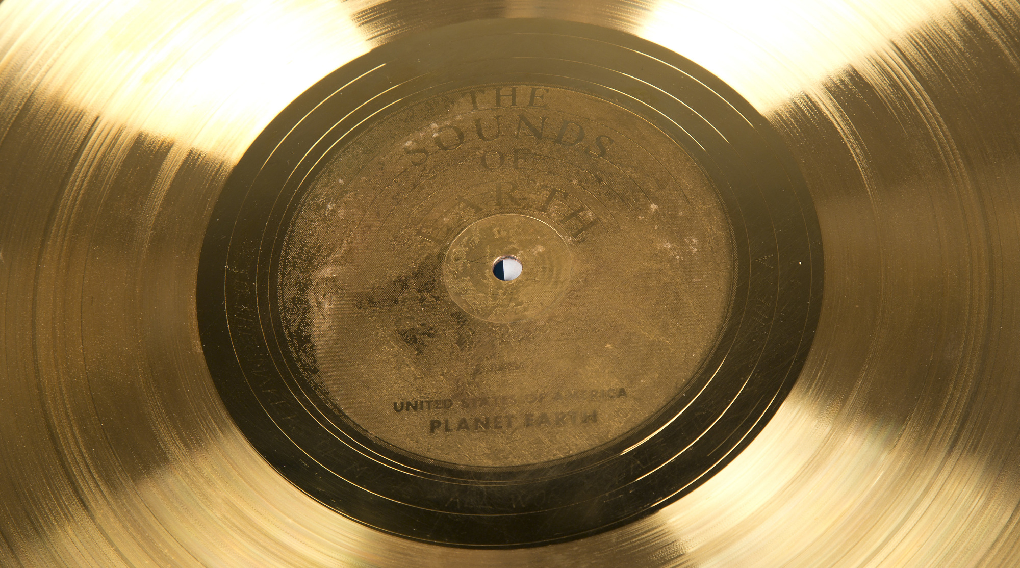Record, Voyager, Sounds of Earth | National Air and Space Museum
