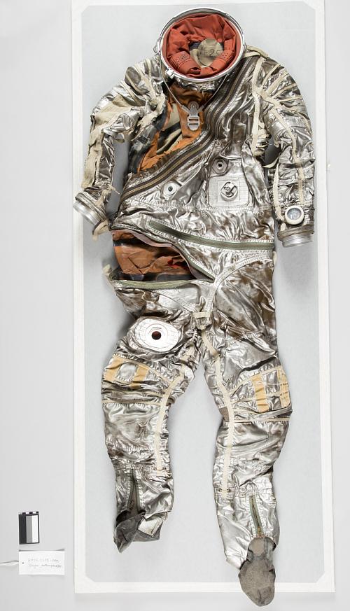 Pressure Suit, Mercury, Grissom, Anthropomorphic