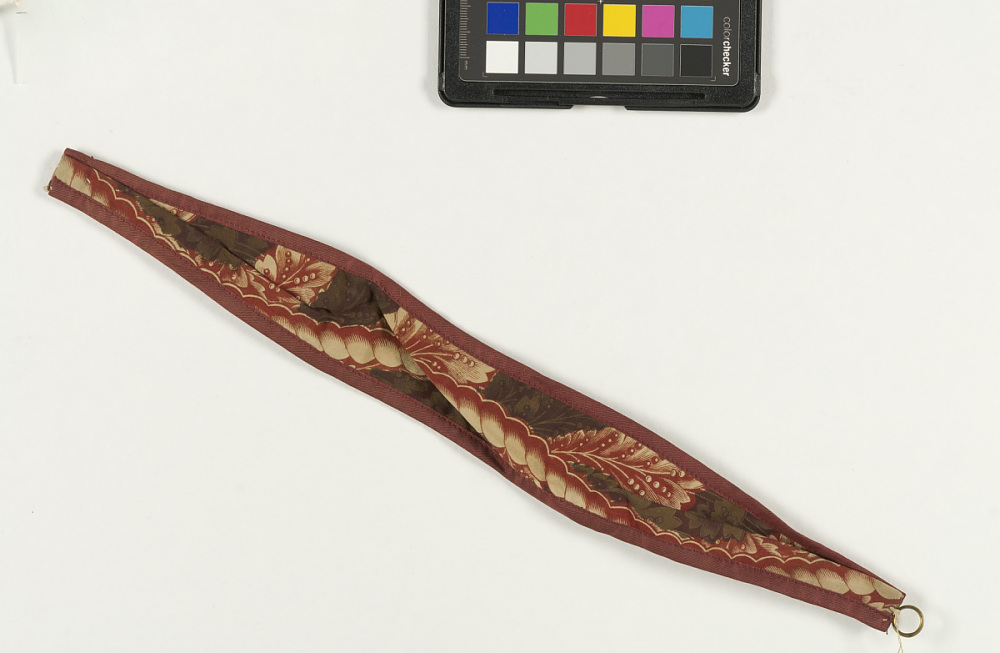 Curtain Tie Back Printed Textile