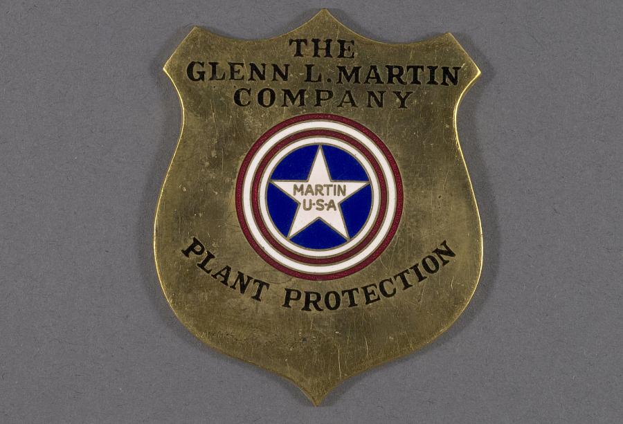 Badge, Security, Glenn L. Martin Co.