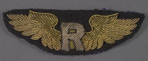 Badge, Pilot, Riddle Air Lines