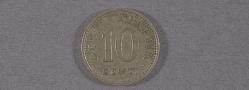 "Coin, Estonia, 10 Senti, Lockheed Sirius ""Tingmissartoq"", Lindbergh"