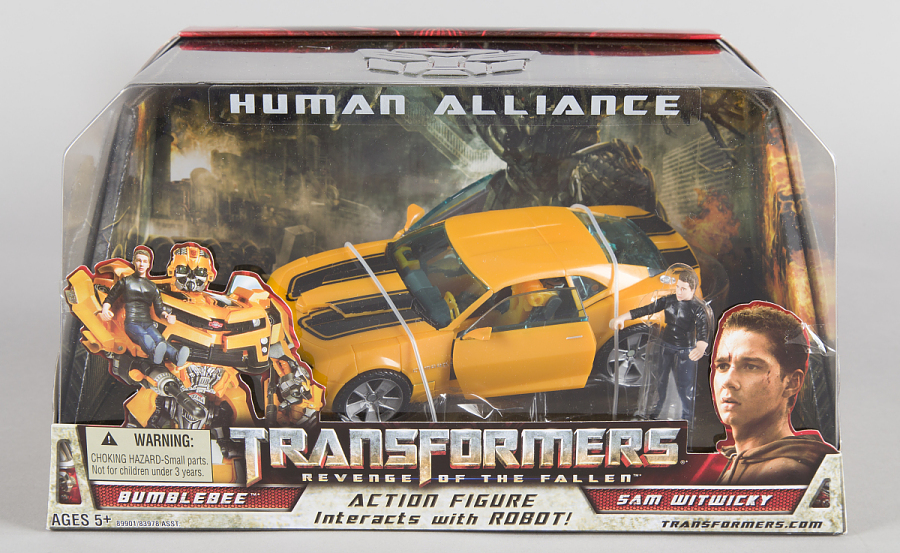 Toy, Bumble Bee and Sam Witwicky, Human Alliance, Transformers 2