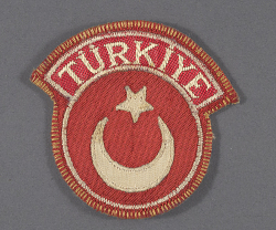 Insignia, Sleeve, Cadet, Turkish Air Force