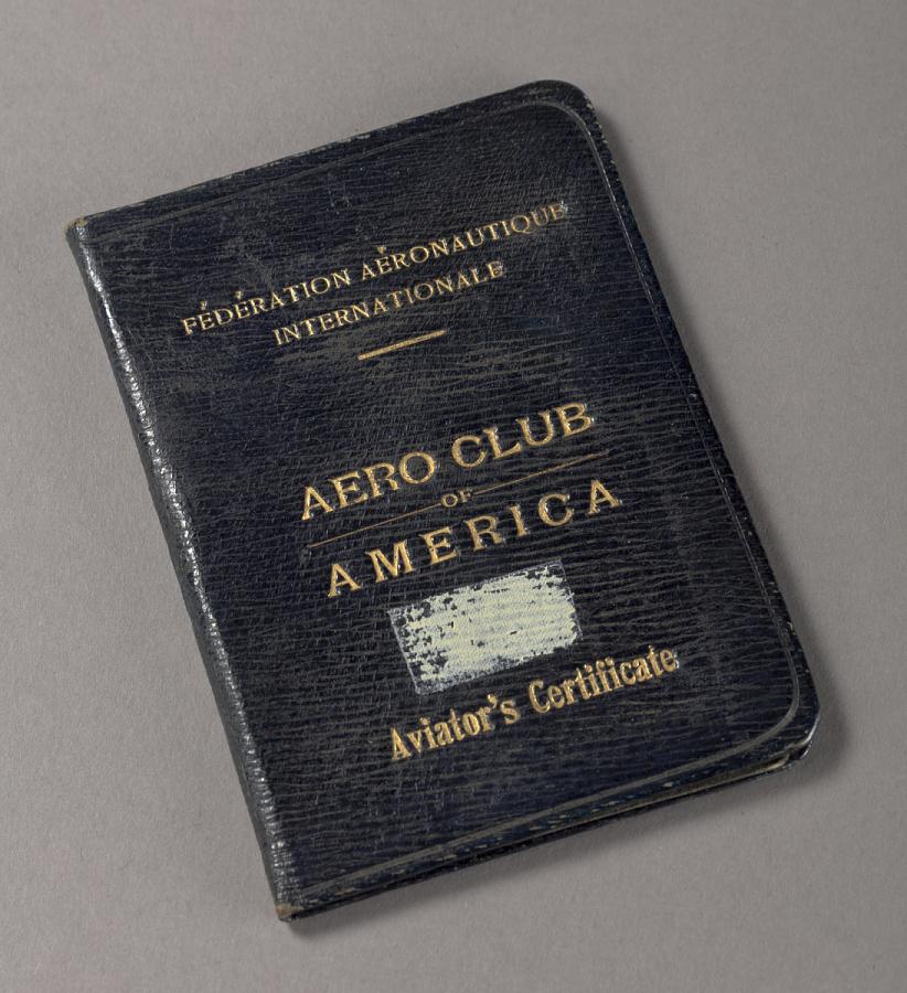 License, Pilot's, Henry A. Ilse