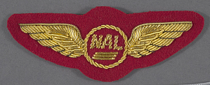 images for Badge, Flight Attendant, National Airlines-thumbnail 1