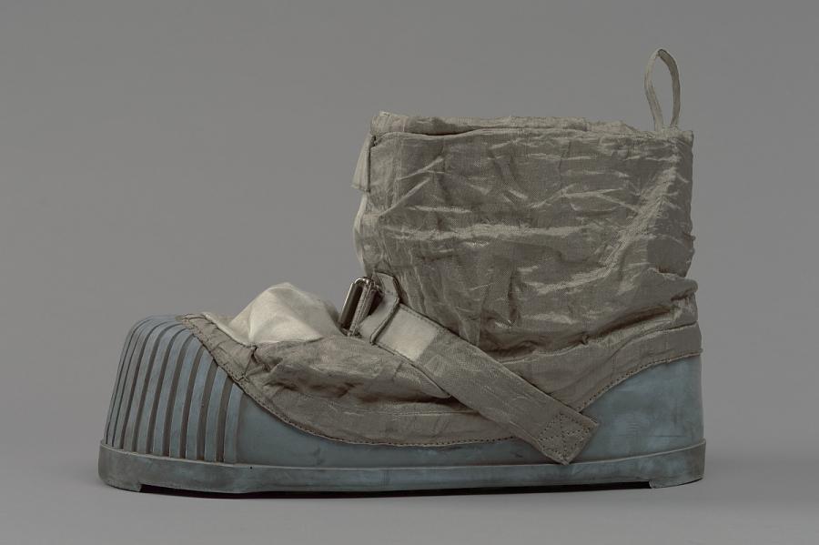 Boot, Left, Lunar Overshoe, Cernan, Apollo 17, Flown