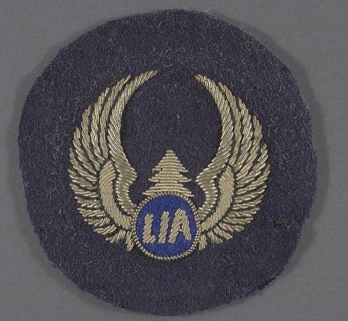 Badge, Cap, Flight Crew, Libya International Airlines