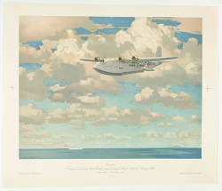 """""""Canopus."""" Designed and built by Short Brothers (Rochester & Bedford) Ltd. for Imperial Airways Ltd. Launched 4th July 1936."""