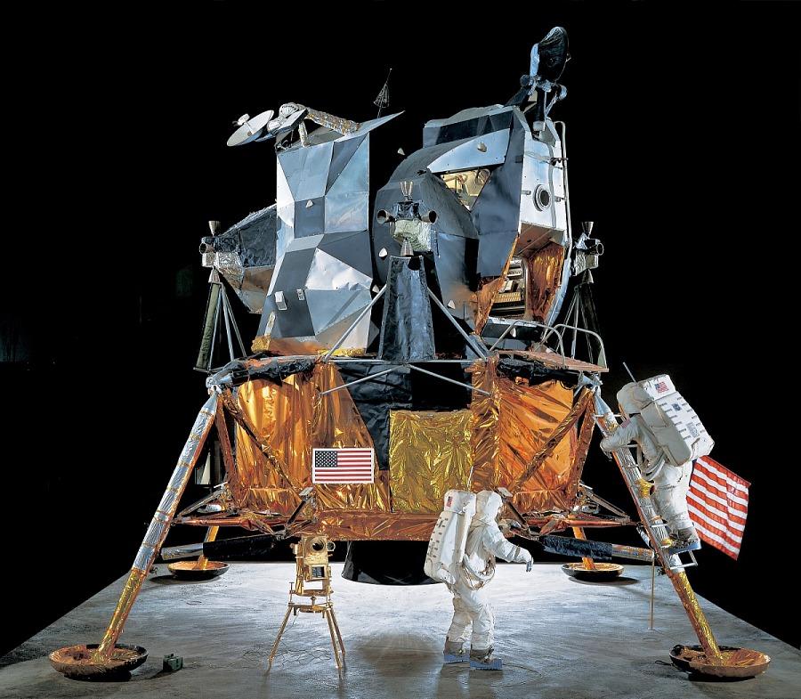 Mockup, Lunar Module, Apollo
