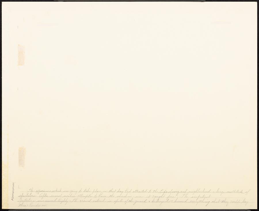 Embrâsement Deplorable de la Machine Aërostatique des Srs. Miolan et Janinet le Dimanche 11 Juillet 1784