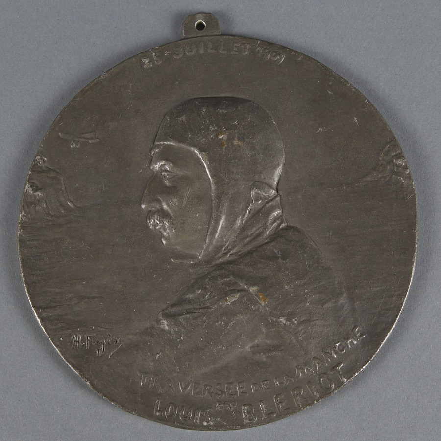 Medal, Louis Bleriot