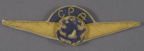 Badge, Cap, Canadian Pacific Airlines Ltd.