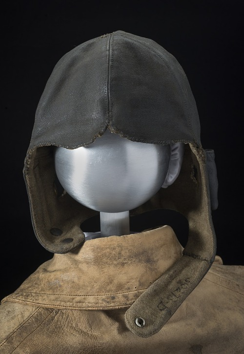 Helmet, Flying, United States Air Mail, Lieutenant James C. Edgerton