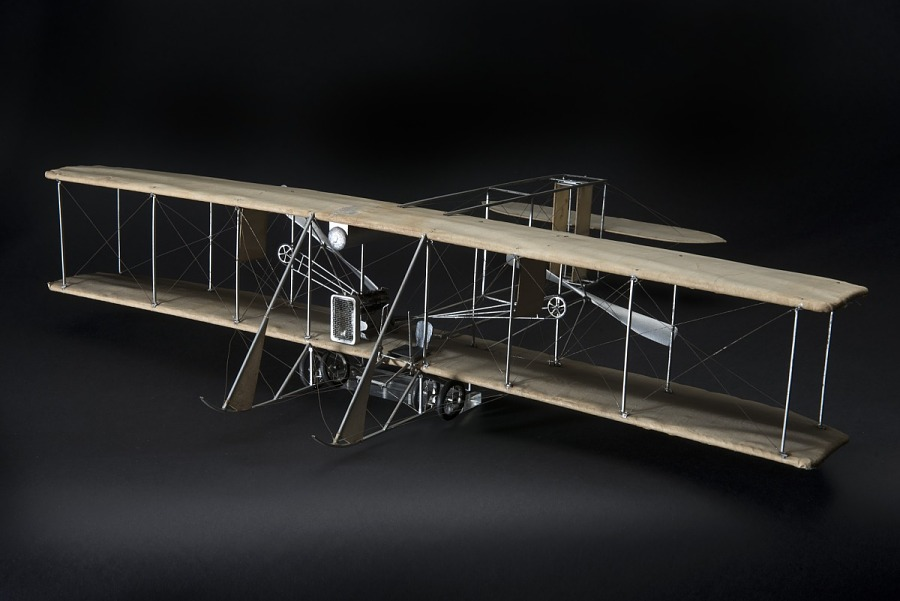 Model, Static, Wright Model B (Inaccuraely named as the Wright EX 'Vin Fiz')