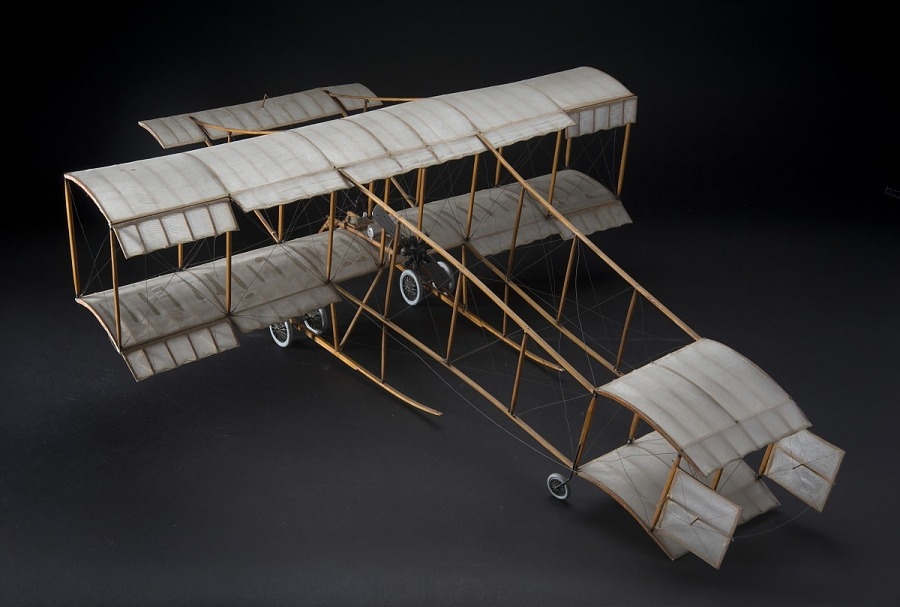 Model, Static, Henri Farman, 1909